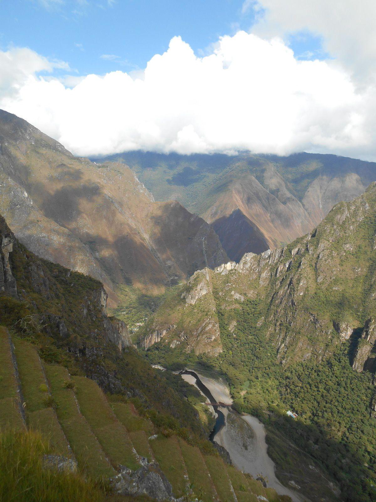 La vallée de l'Urubamba...