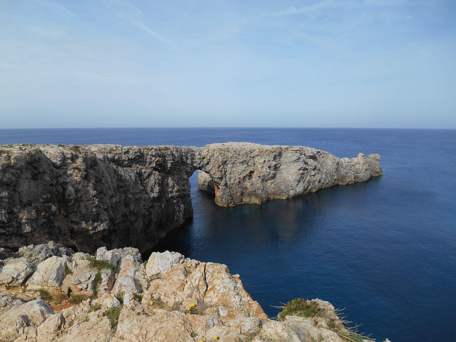 Minorque: de Cala en  Blanes à Punta Nati