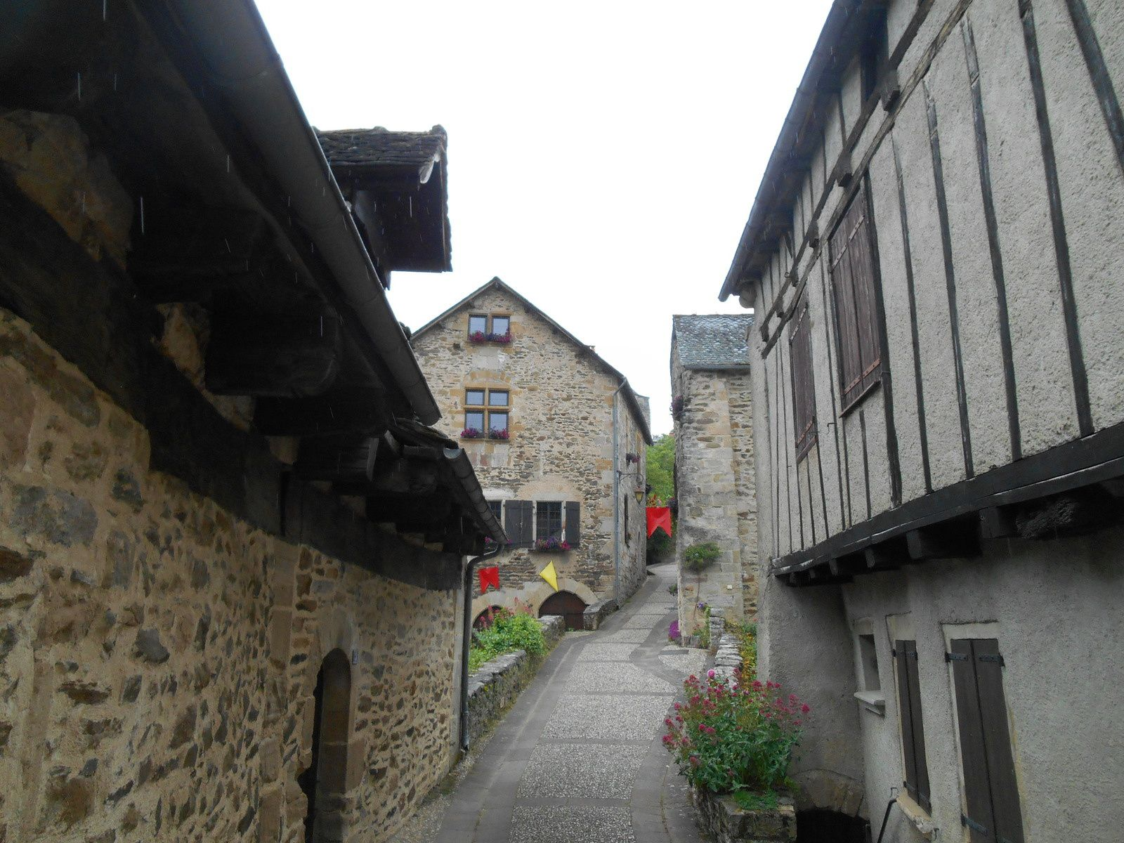 Les plus beaux villages de France: Najac (Aveyron)