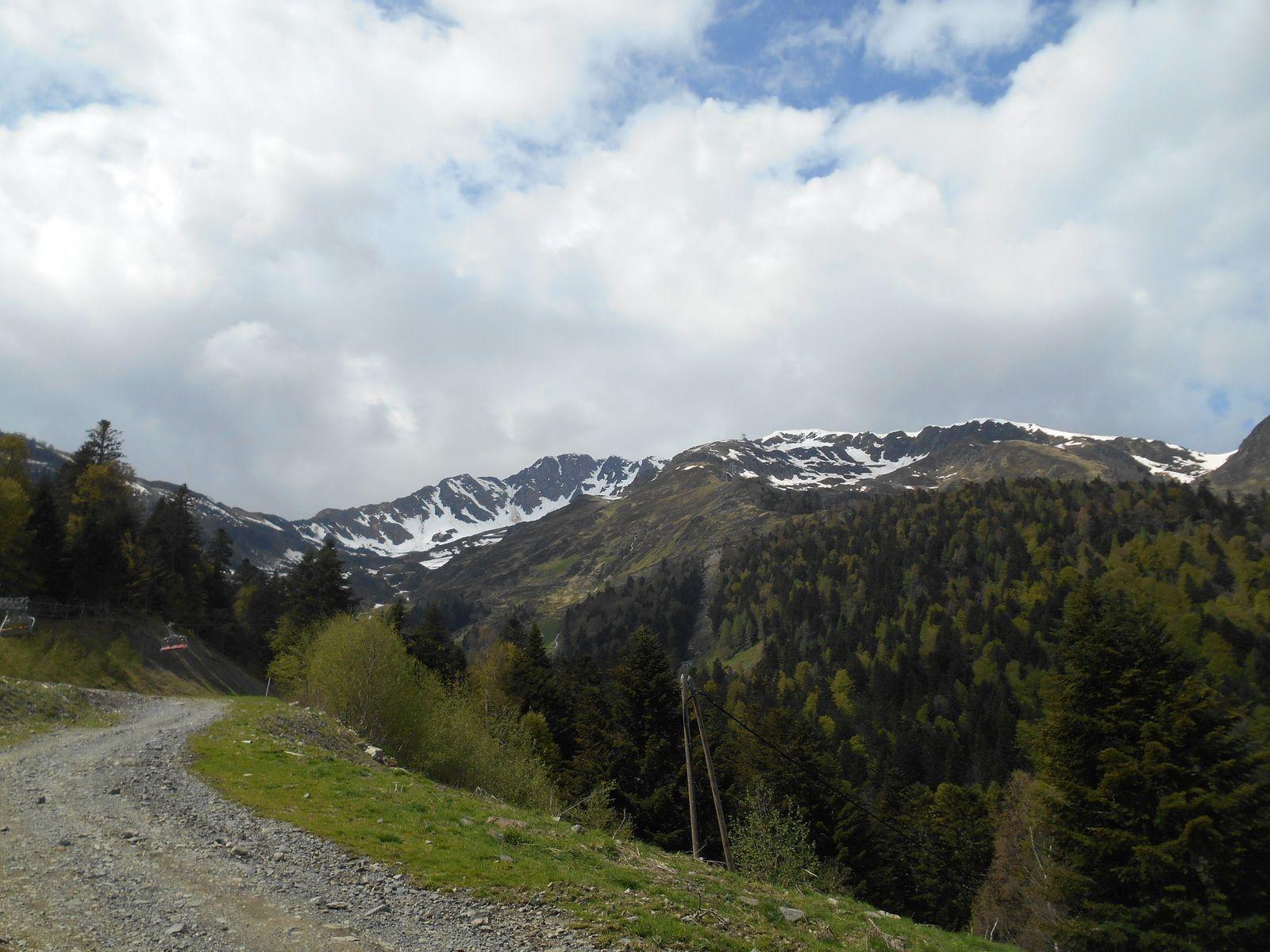 Le massif du Céciré...