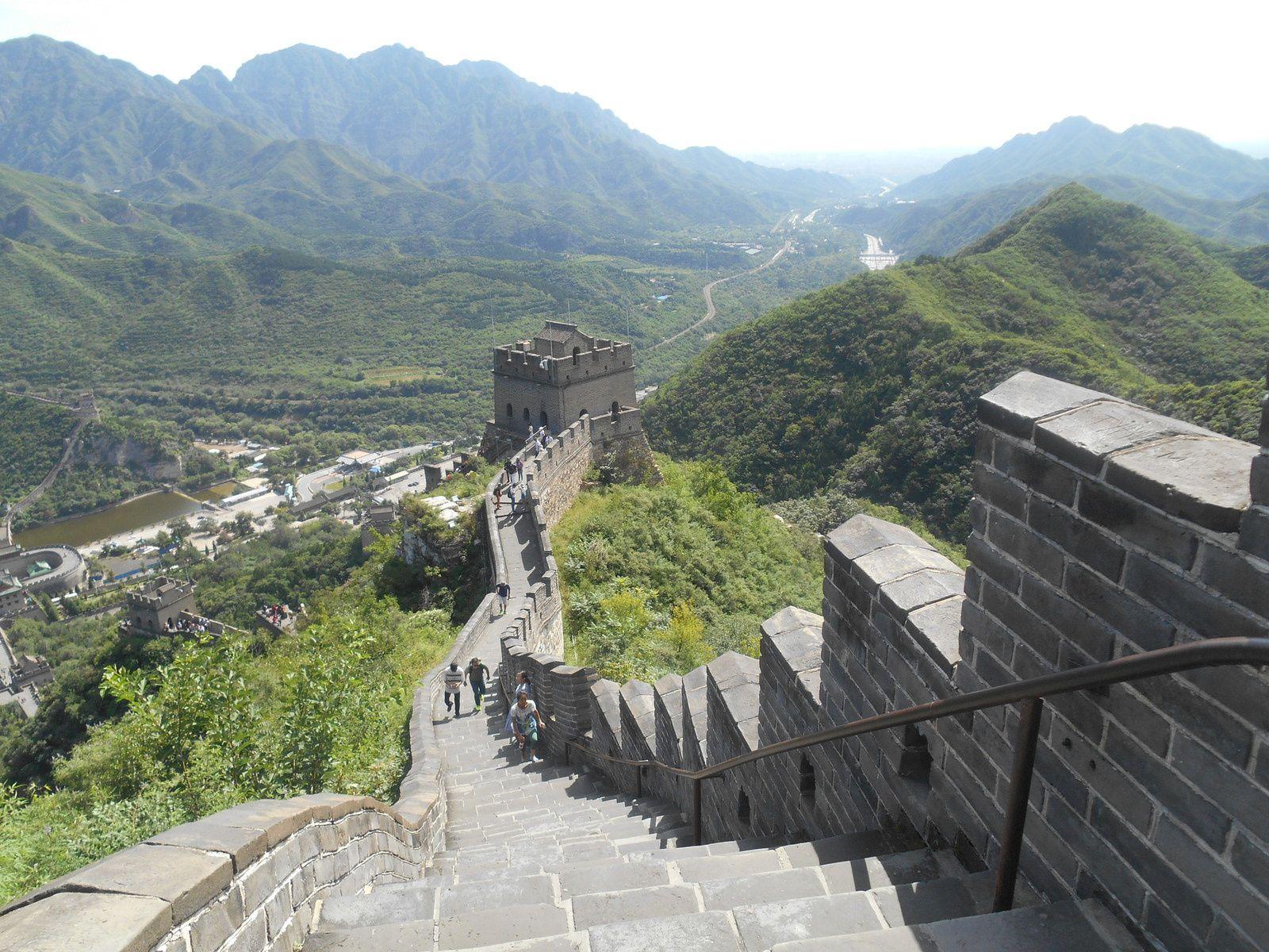 Chine: 2ème journée - La Grande Muraille