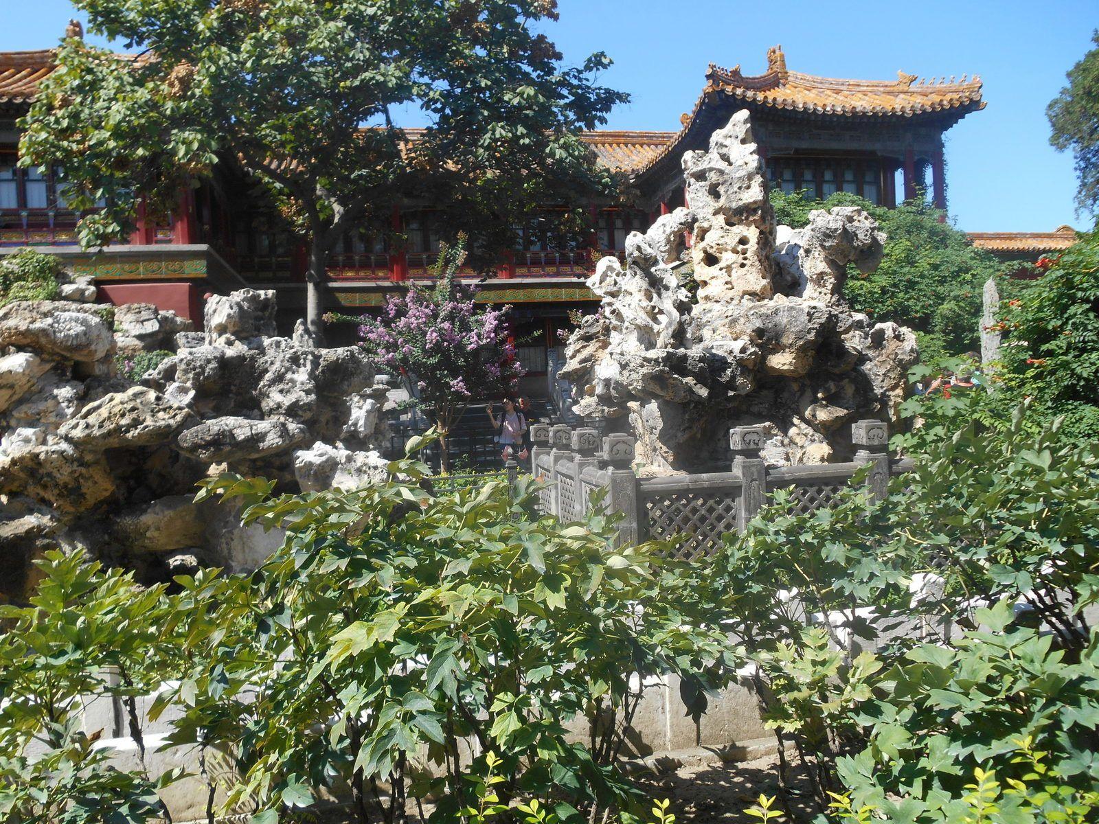Les jardins impériaux...