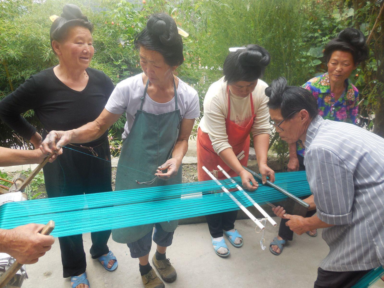 Chine: jour 8 (suite) -Les villages de Qingman et de Shiqiao