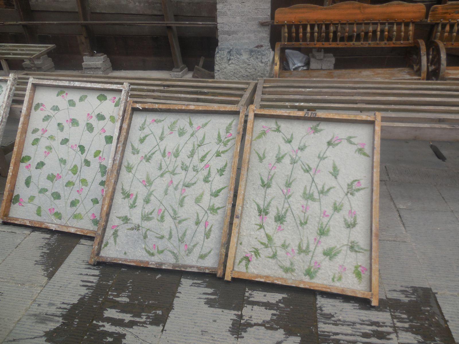 Papier utilisé pour la peinture et la calligraphie chinoise...