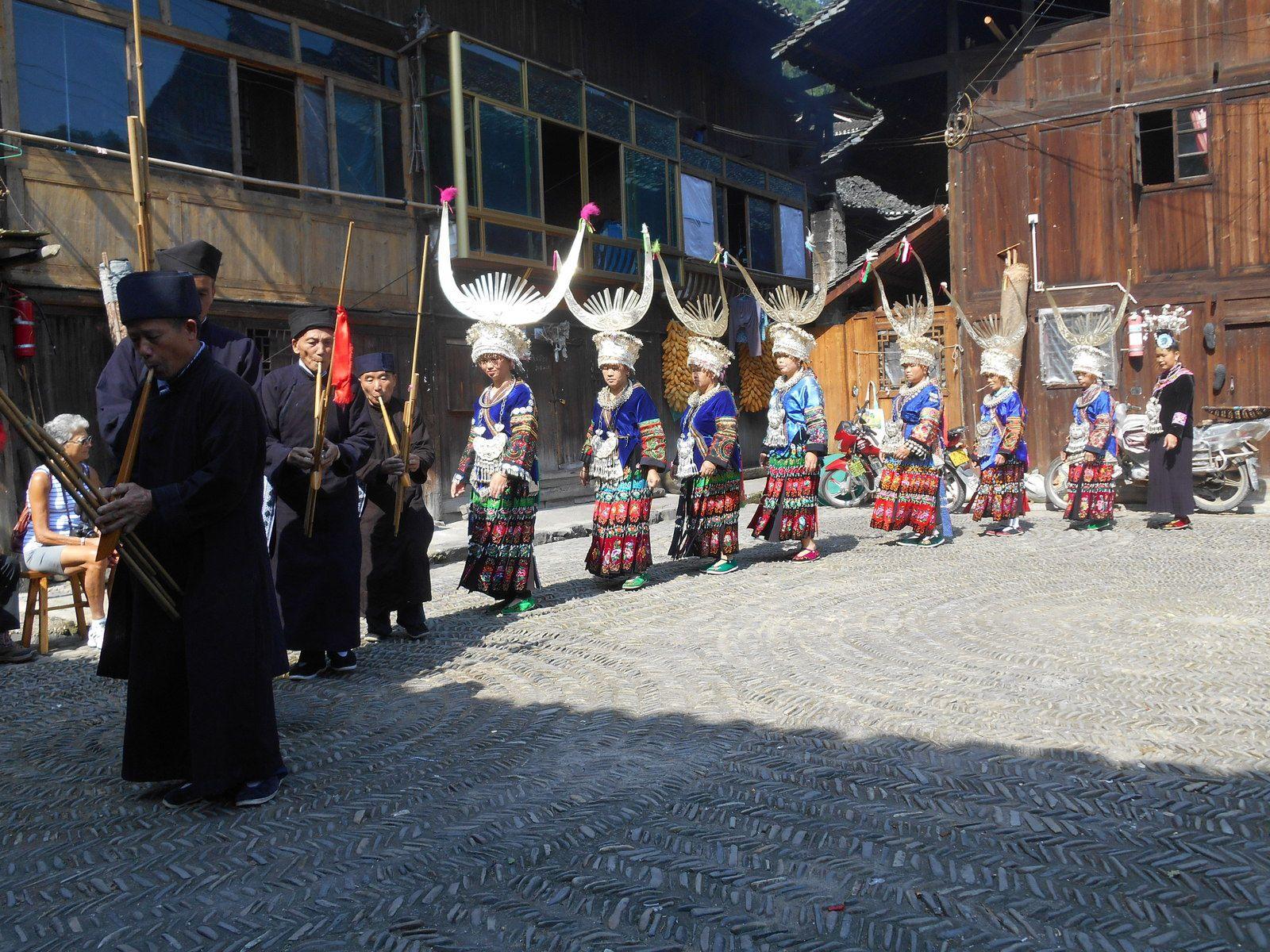 Chine: jour 8 - Le village de Jidao (Minorité ethnique Miao)