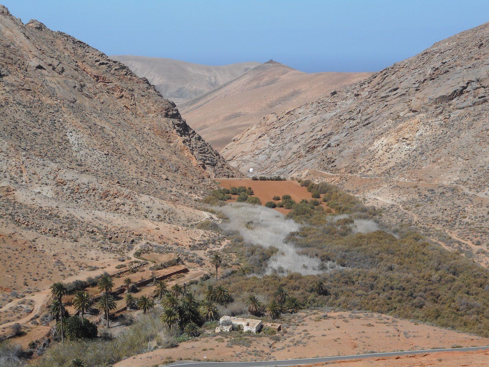Le Centre de l'Île de Fuerteventura