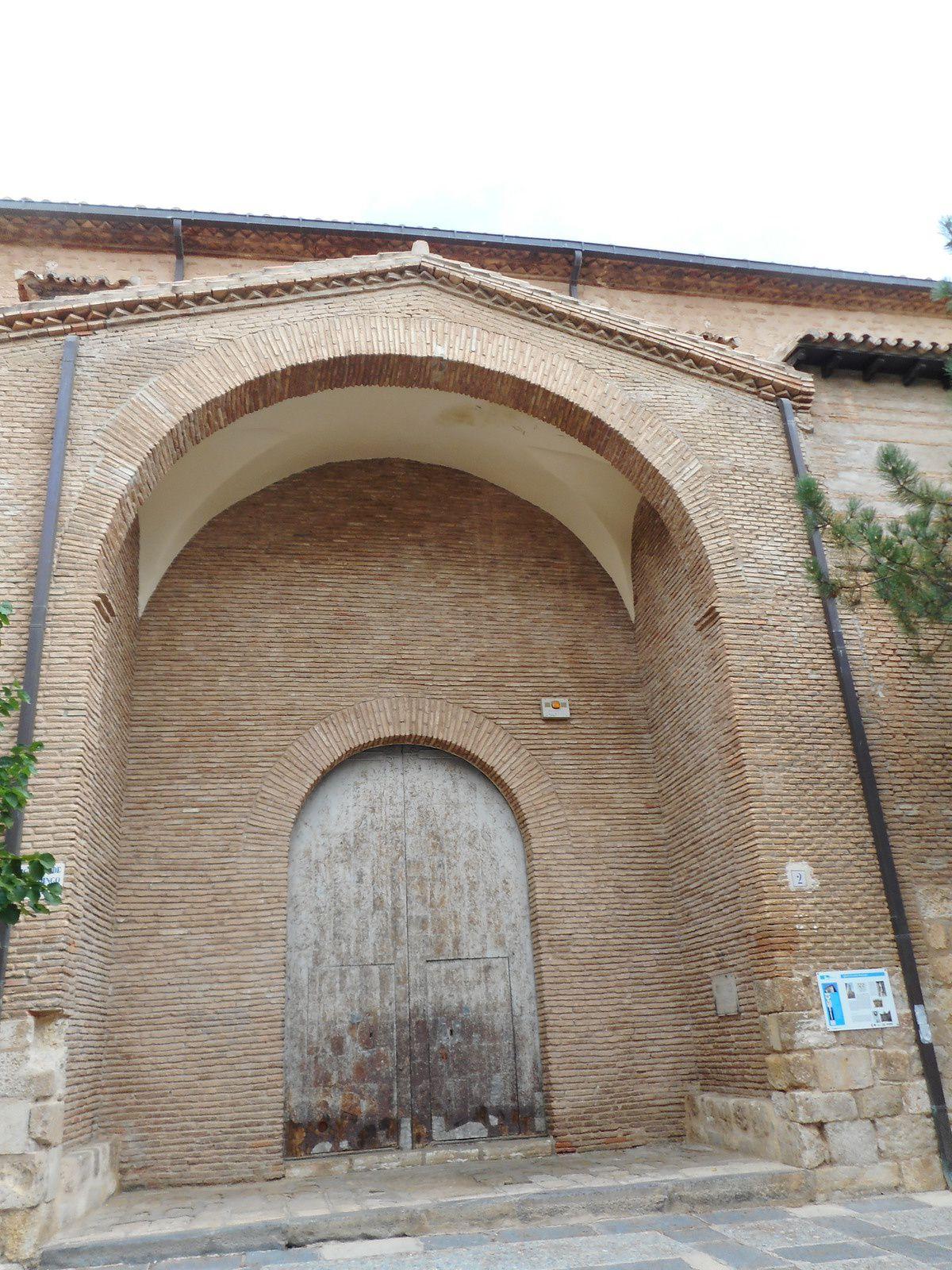 Portail d'entrée de l'église Santo Domingo...