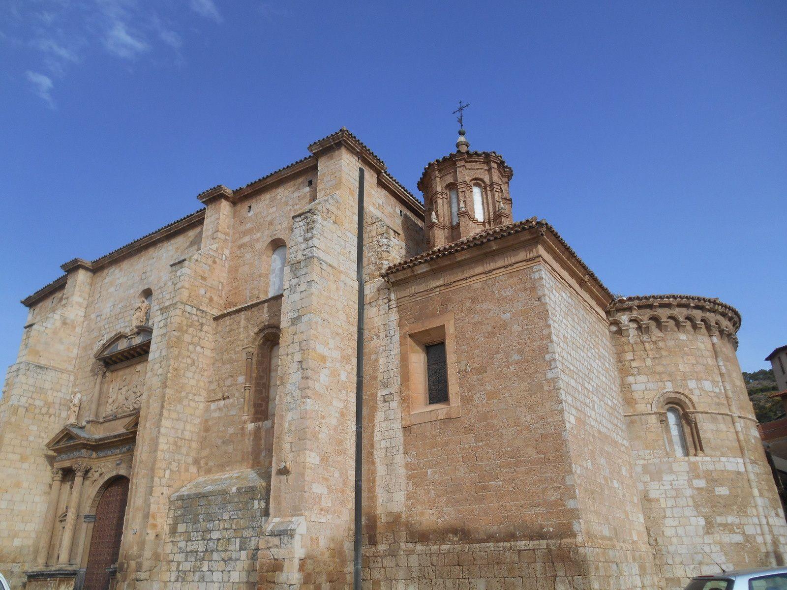 La Basilique de Santa Maria de los Sagrados Corporales.