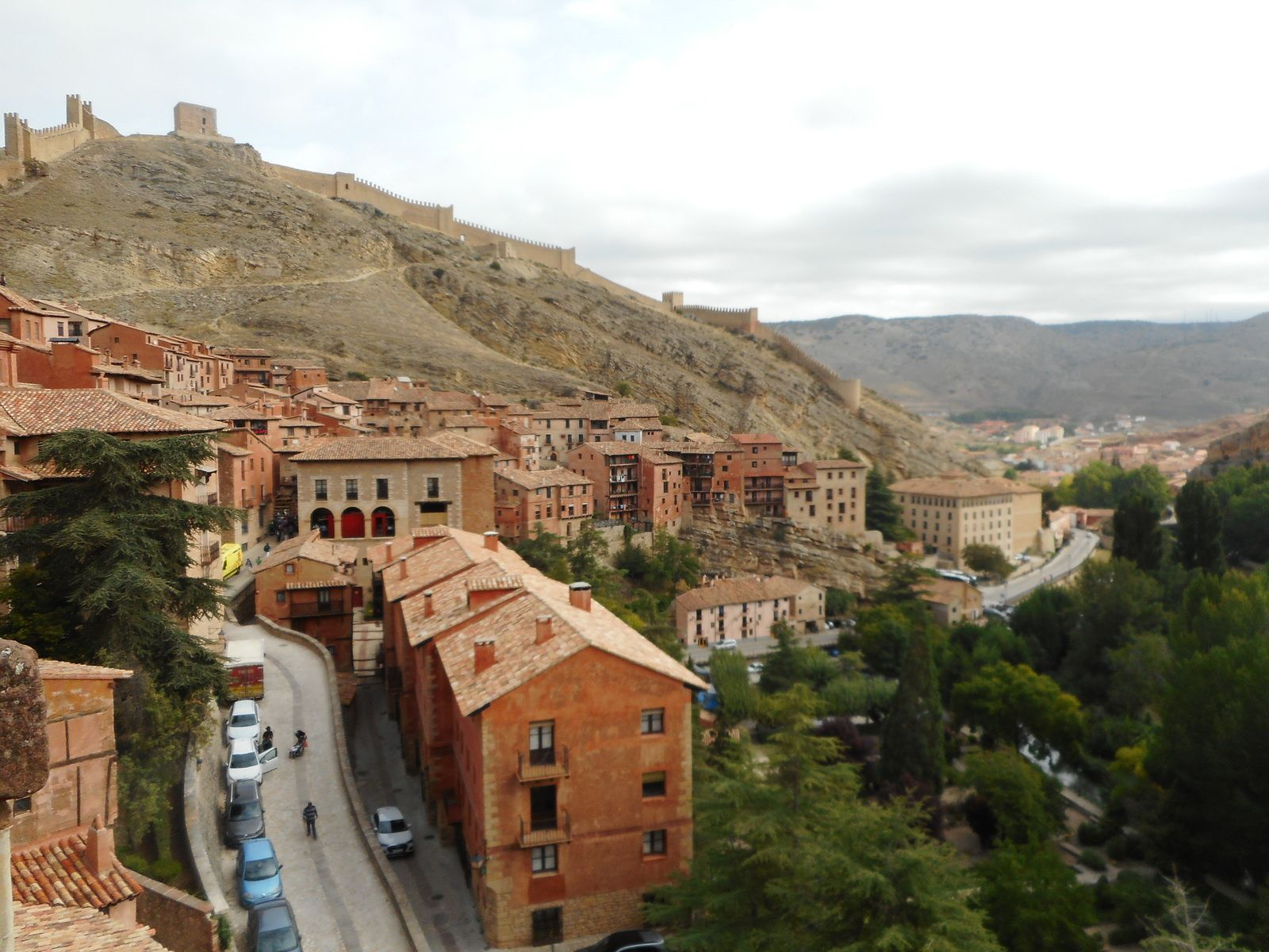 Albarracin : village médiéval en Aragon.