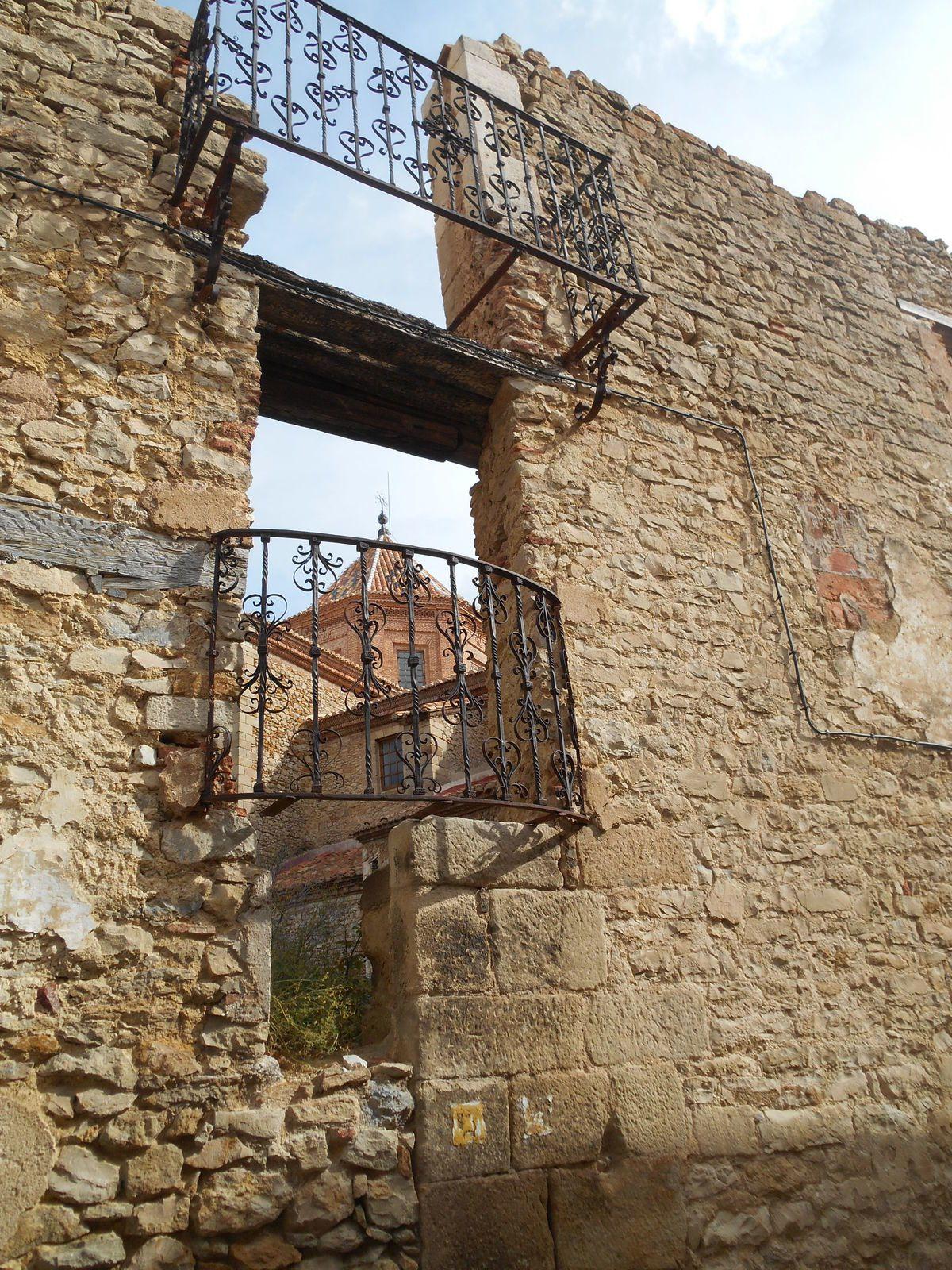 Les murailles de la ville...