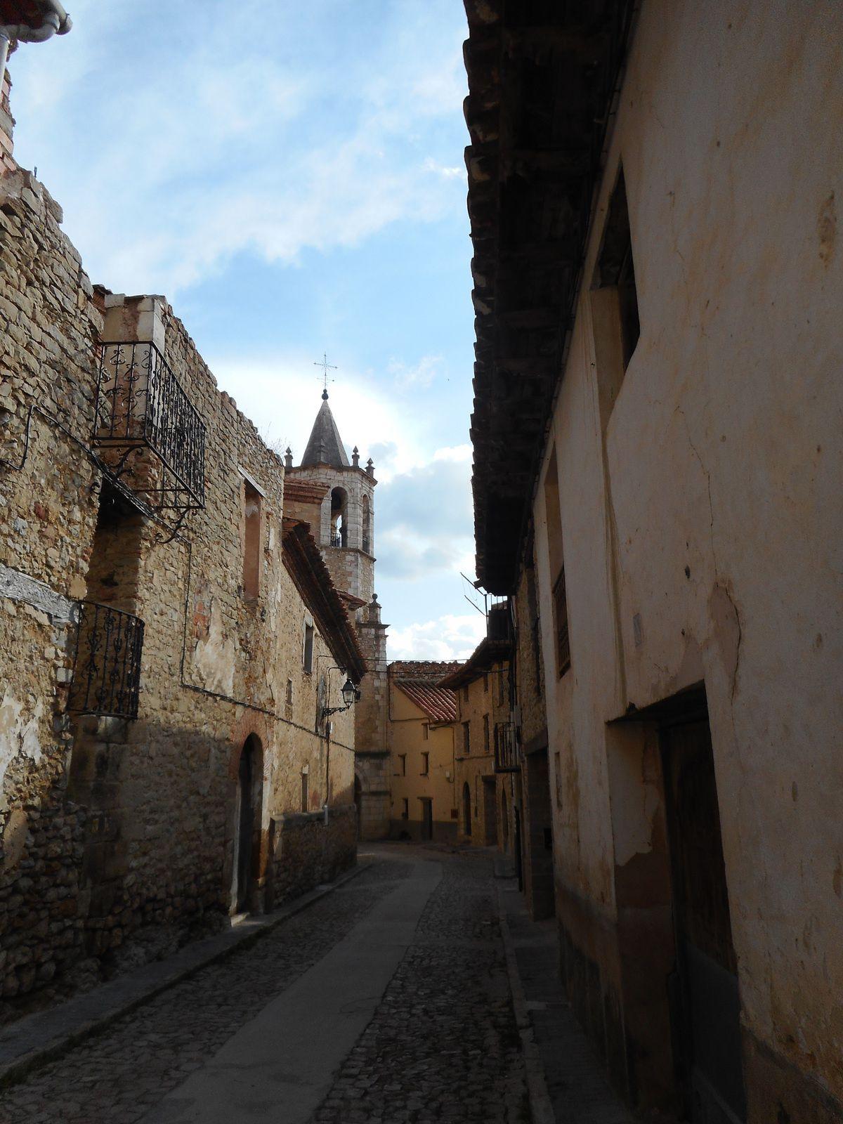 Retour vers le centre du village...