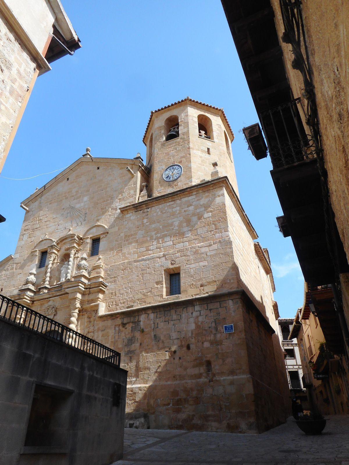 L'église paroissiale de San Bartolomé...
