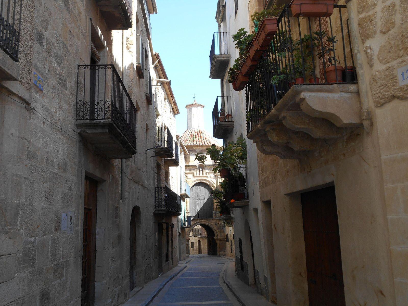 Portal de Orta y Capilla de San Antonio.