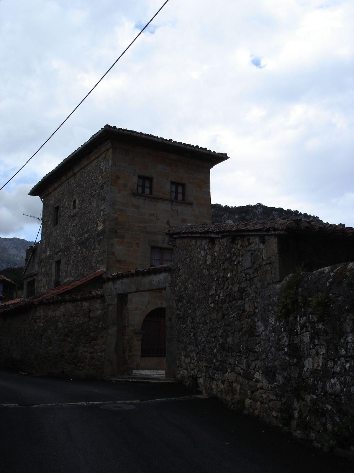Des maisons typiques...