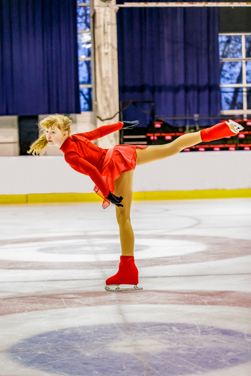 Justaucorps body polaire pour patinage