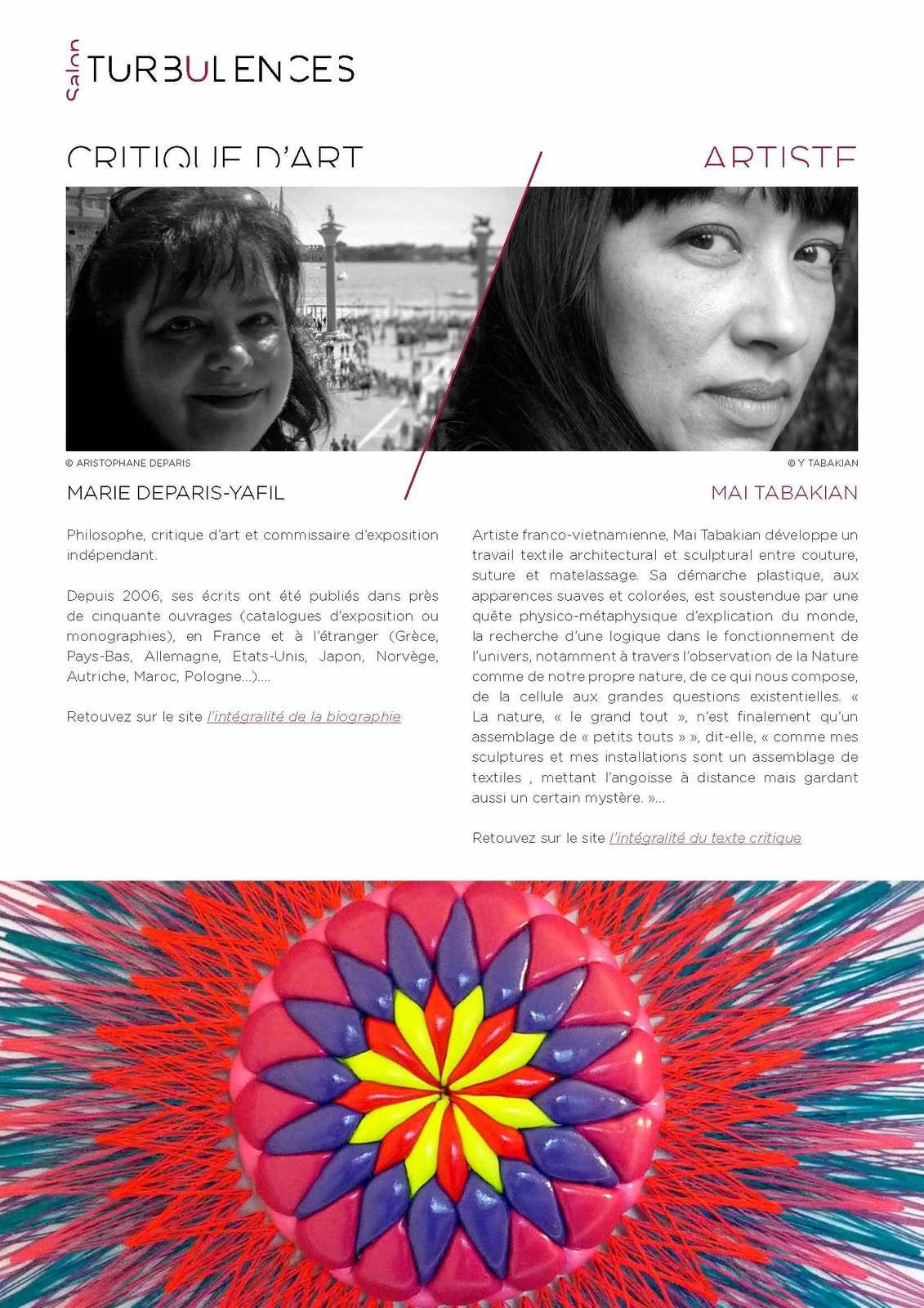 Salon TURBULENCES - #2 - Ode à Gaïa - Décembre 2019 / Mars 2020