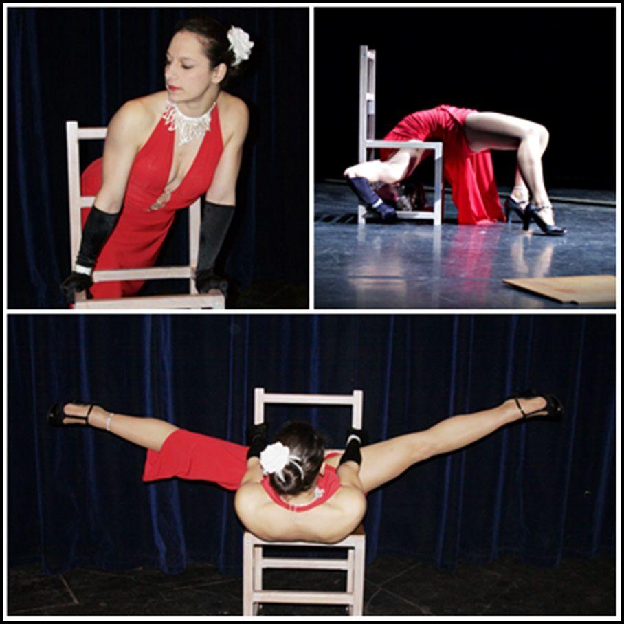 acrobatie chaise sexy