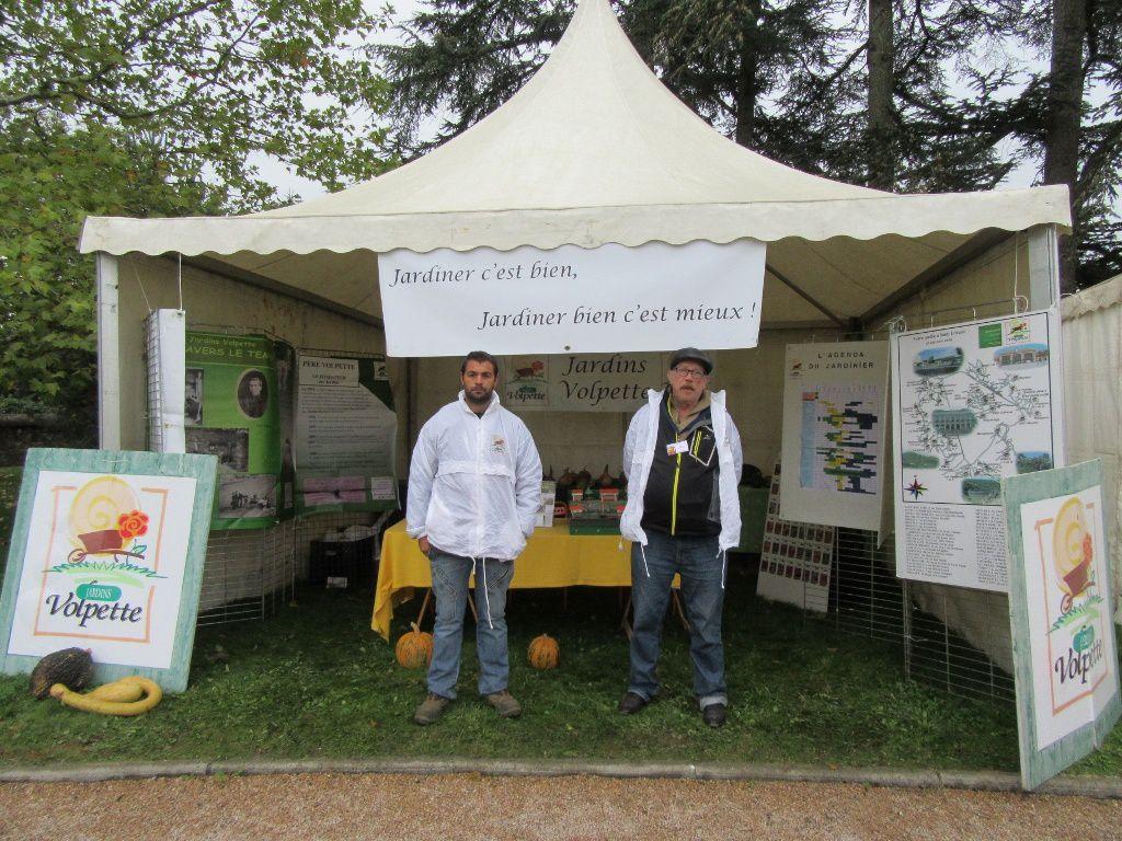 Merci aux bénévoles des jardins Volpette pour leur participation