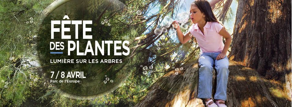 Les 7 et 8 avril 2018, ne manquez pas la fête des plantes de Saint-Etienne