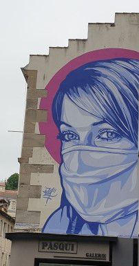 Le Covid 19 inspire les artistes locaux