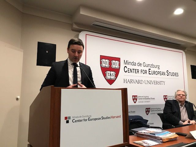 Speech at Harvard University. 22 février 2018. How France Is Fighting Long-term Unemployment What an Innovative Experiment Can Teach Advanced Economies