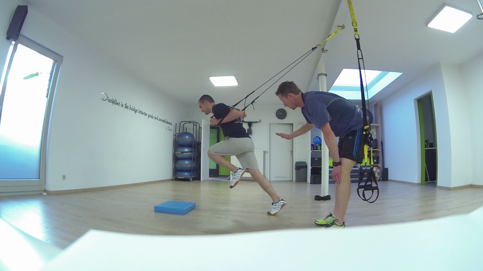 Workout (10/13)...Starter squat...Balance!