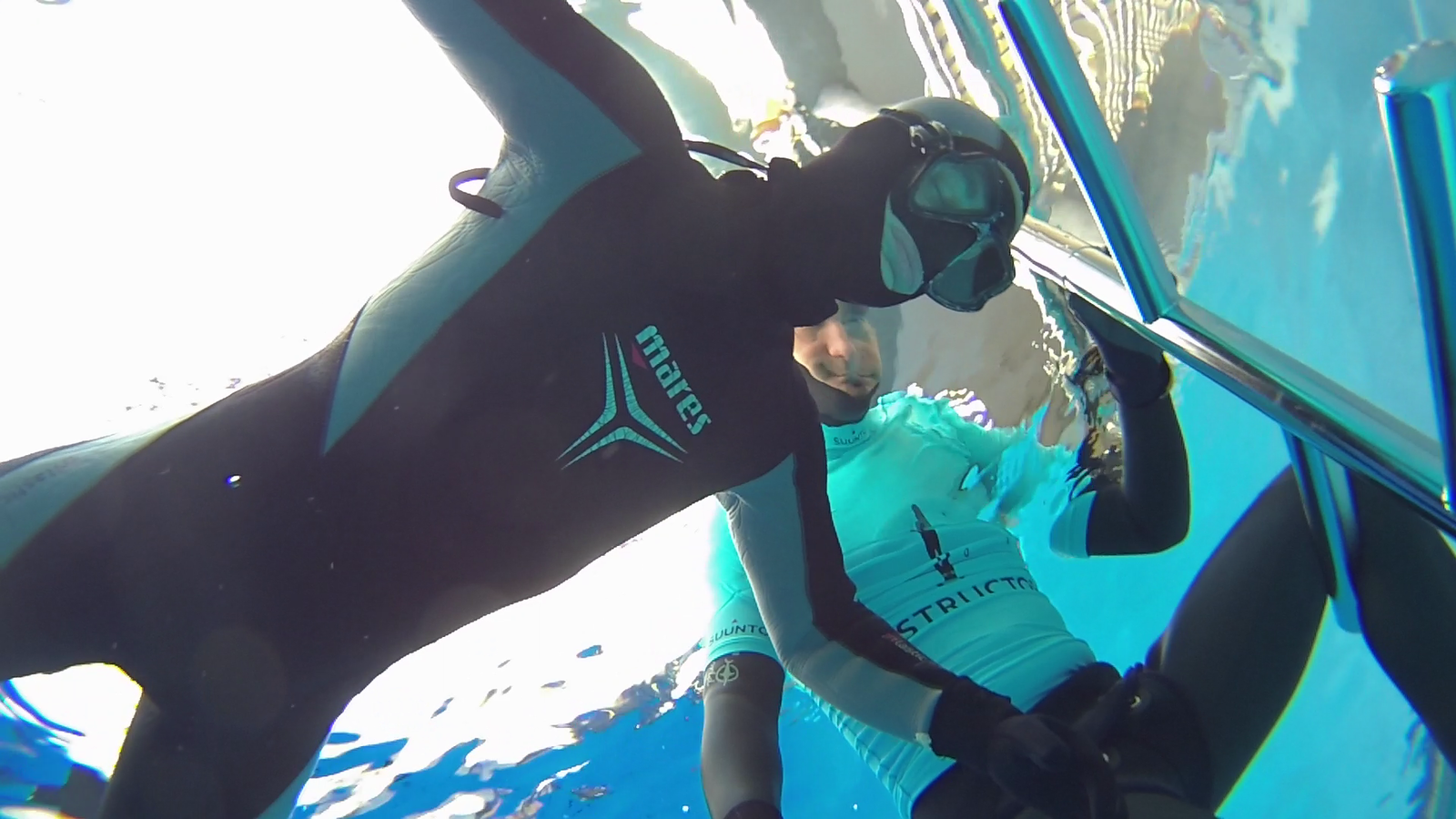 Frederiek improved his personal best in static apnea by more than 1 minute during this session!