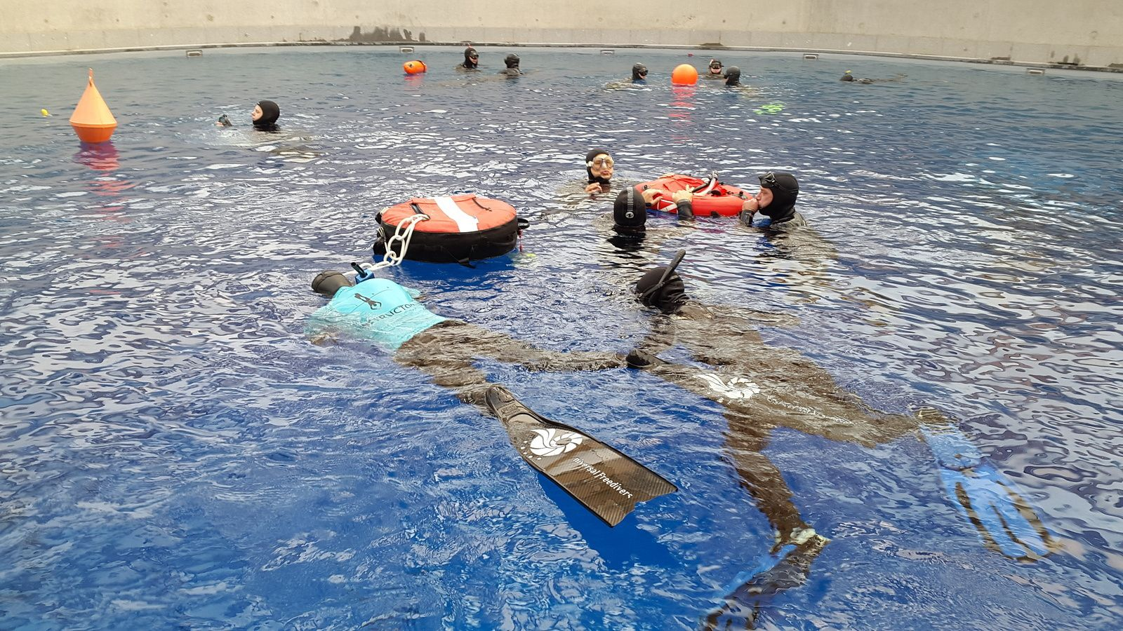 Duiktank Transfo, the perfect place for freediving introductory course!