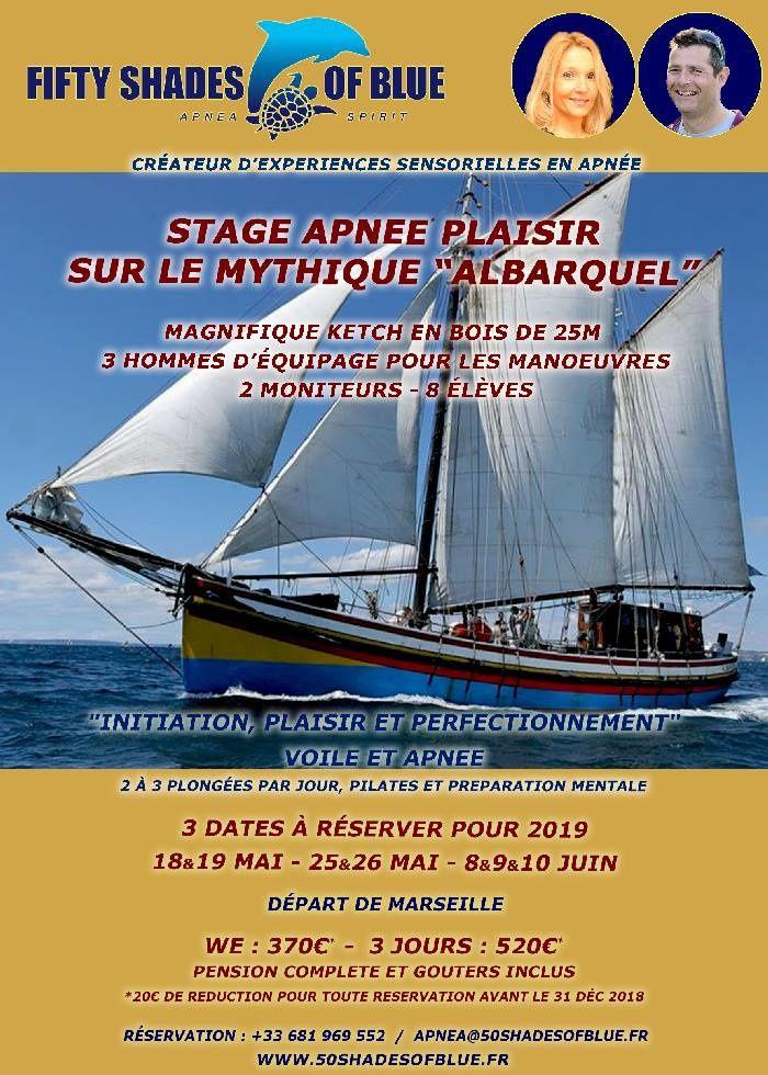 Stage Apnée Plaisir avec 50 shades of Blue