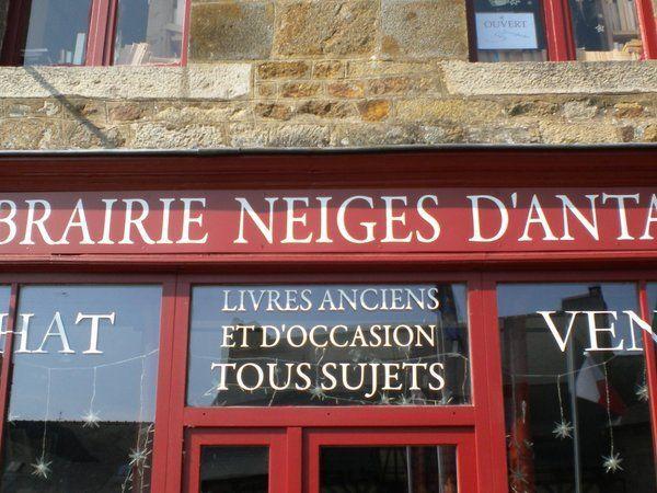 Coordonnées des librairies de la Cité du Livre.