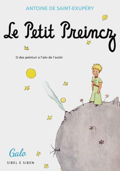 """Soirée autour du """"Petit Prince""""... en gallo ! Vendredi 13 octobre 2017 à la librairie Gwrizienn"""