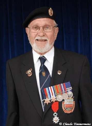 George Batts vétéran Anglais du 6 juin 1944