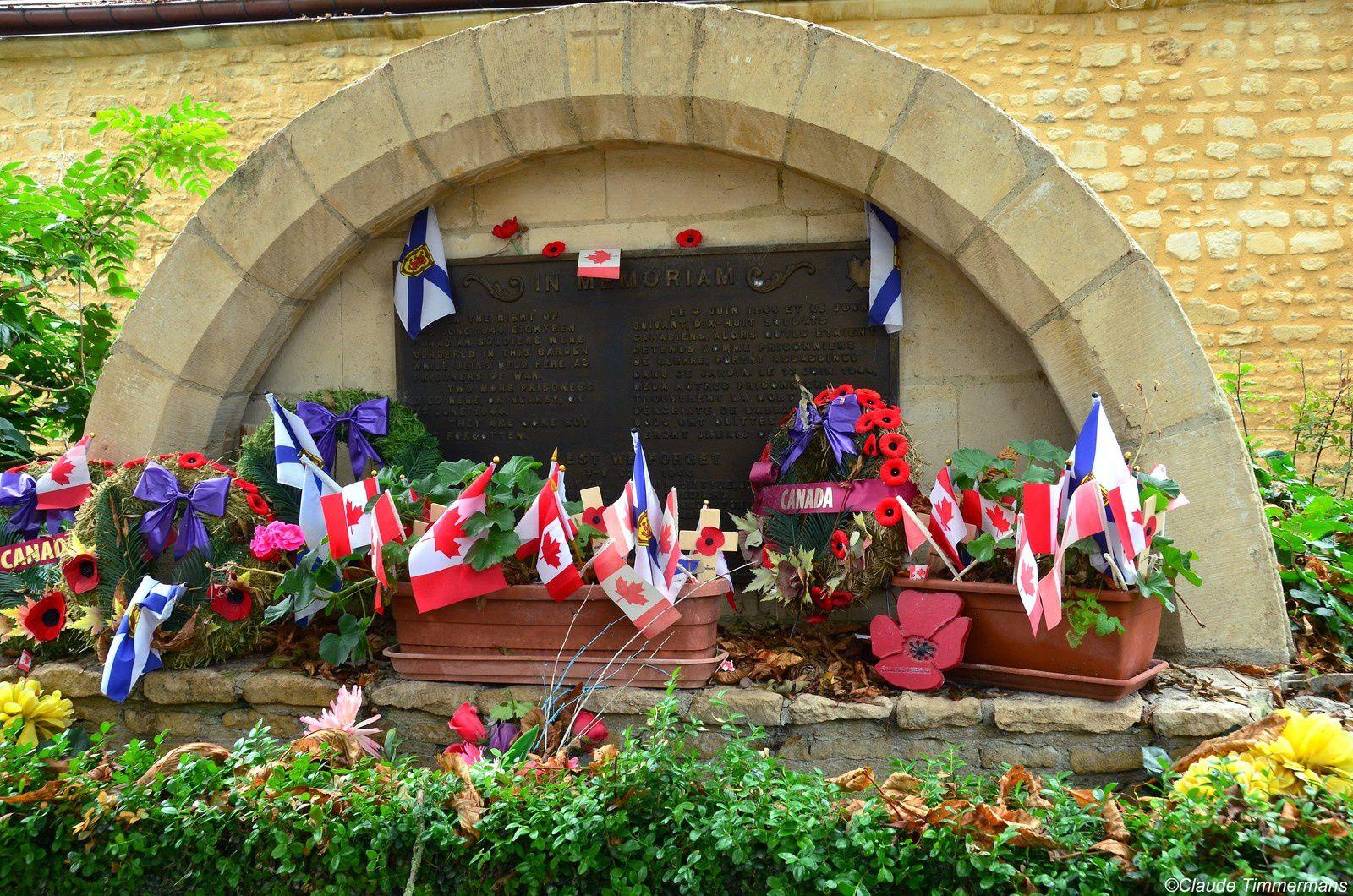 Abbaye d'Ardenne et monument du souvenir