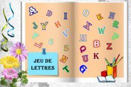 petit jeu de lettres Lady 10