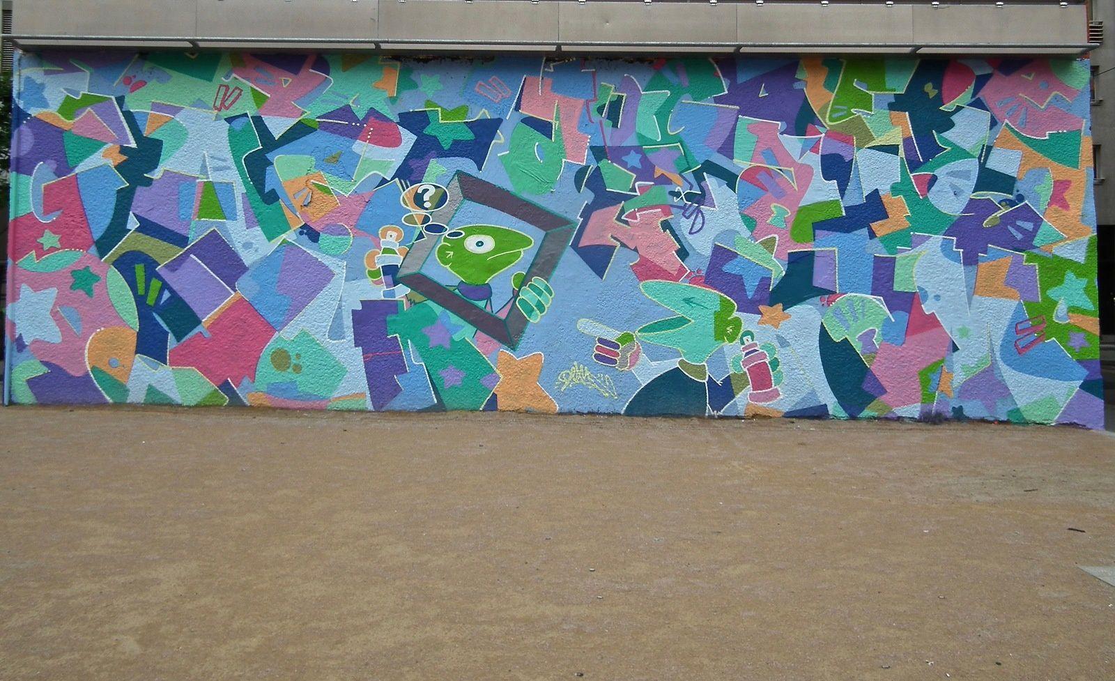 Lugdunum street art... 6