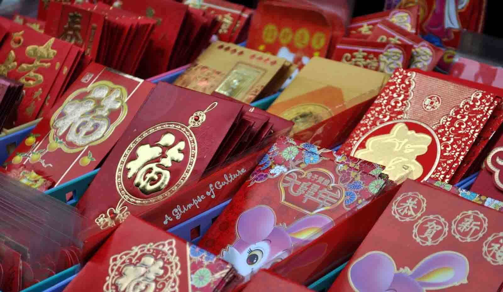 Les hongbao, une tradition chinoise