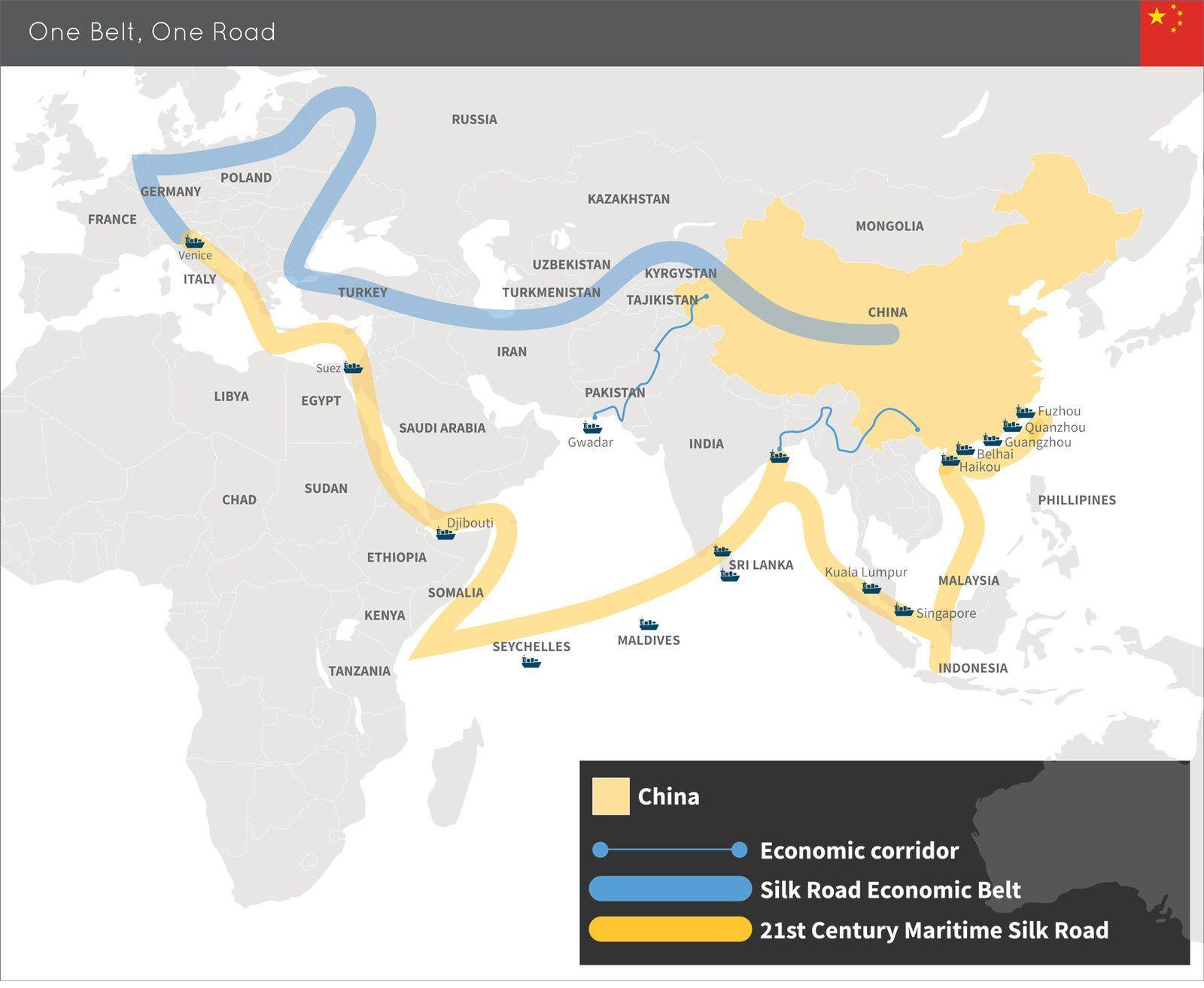 La nouvelle Route de la Soie, un projet gigantesque