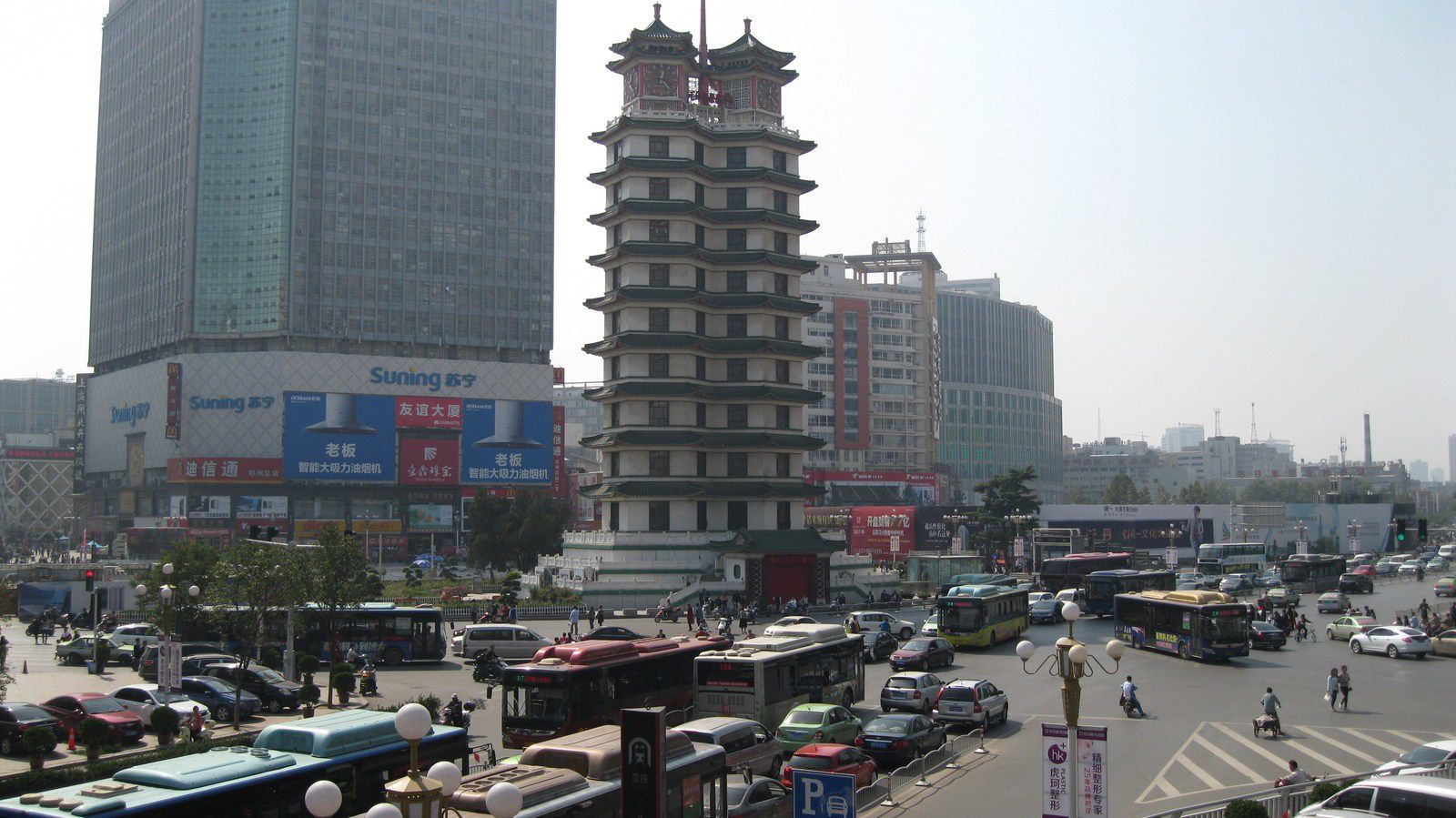 Les 10 villes chinoises avec le plus de voitures