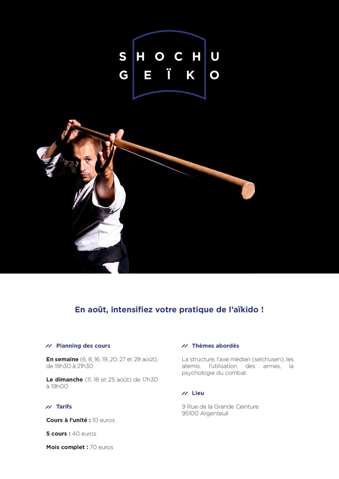 Shochu Geïko 2019 Argenteuil