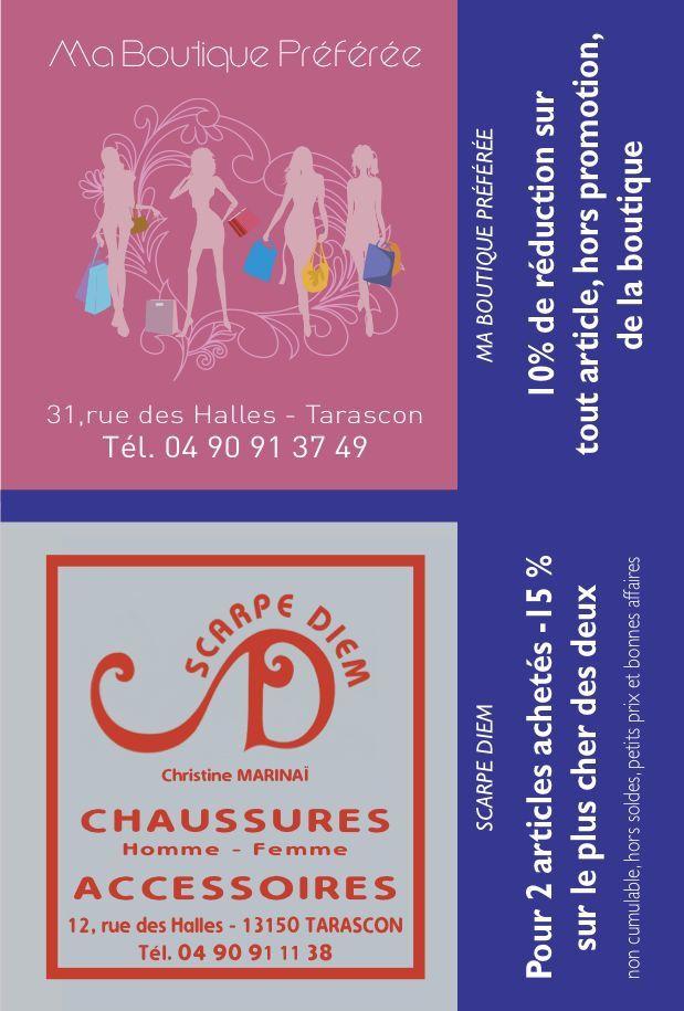 """Joyeuses Fêtes avec vos commerçants & artisans Tarasconnais : """"Fête des économies"""" !"""