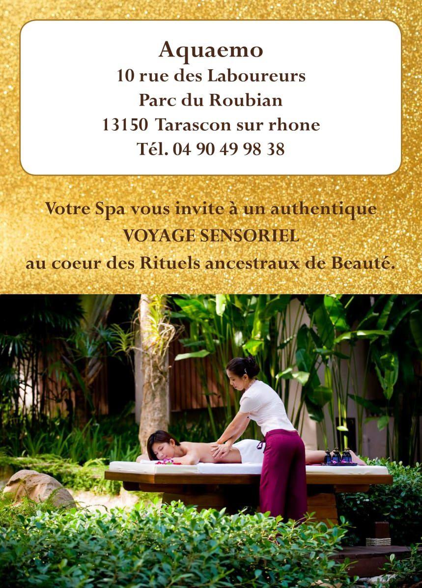 Coffret Relax / Coffret Zen / Coffret Spa / Coffret Royal ... Aquaémo, c'est son restaurant mais aussi son SPA qui vous invite à un authentique voyage sensoriel au cœur des rituels ancestraux de beauté.