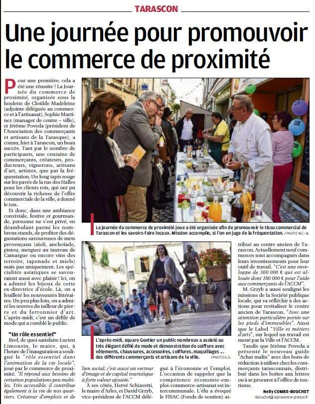 Journal La Provence octobre 2016 JNCP