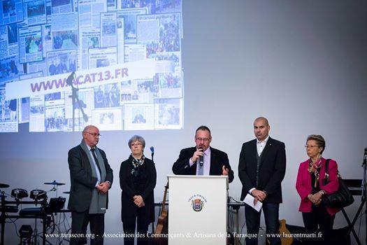 L'A.C.A.T. remercie : Nos clients / Nos adhérents / La Ville de Tarascon / La C.C.I d'Arles / Los Ninos Gyp'sea