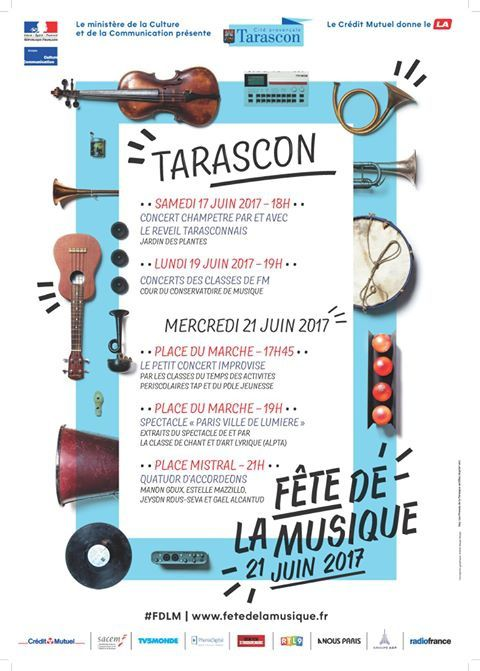 Le 21 juin, c'est la fête de la musique !