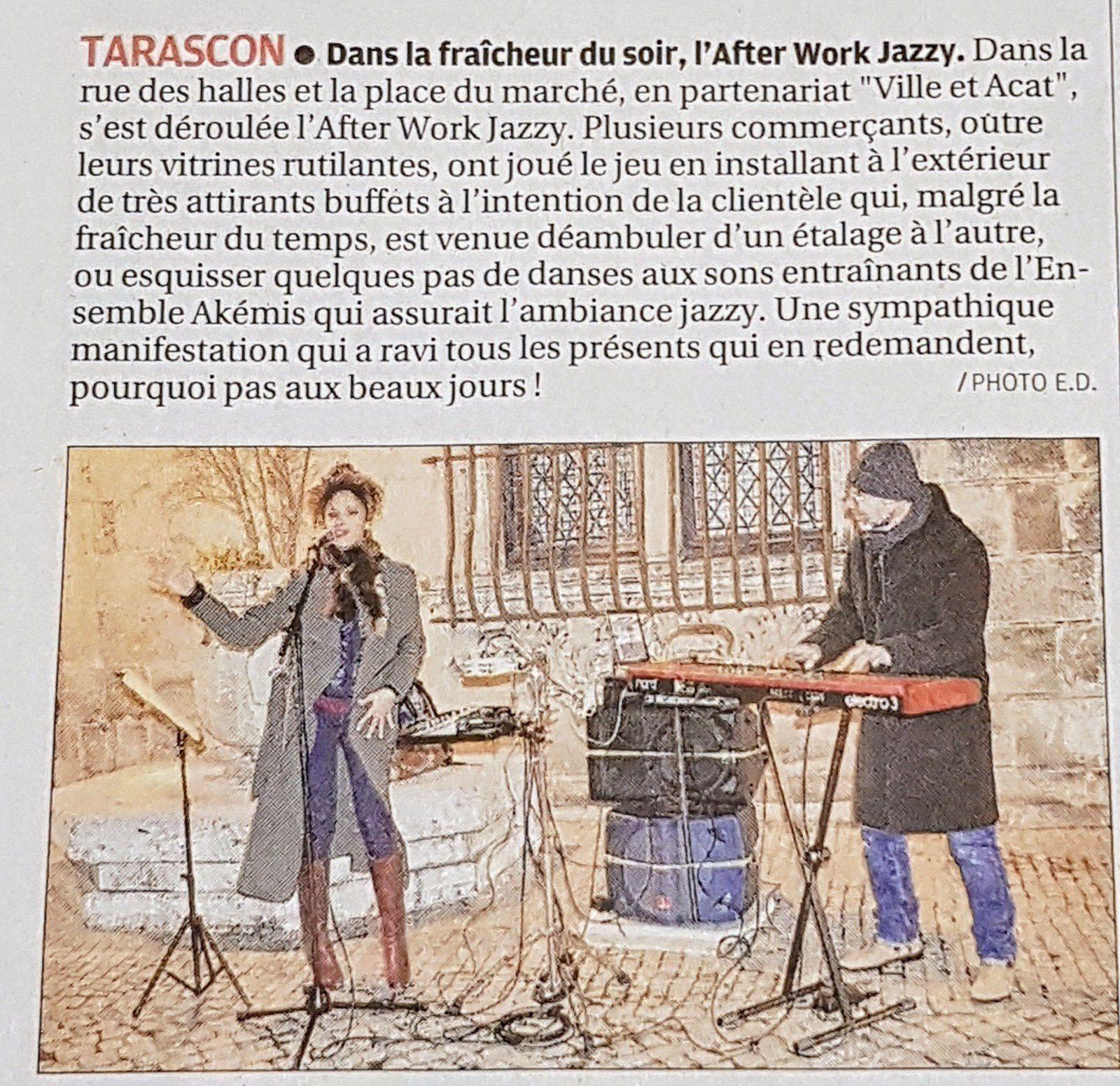 Journal La Provence Décembre 2017