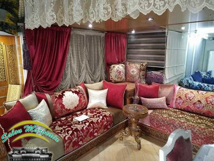 salon marocain 2017 goria salon marocain moderne 2014. Black Bedroom Furniture Sets. Home Design Ideas