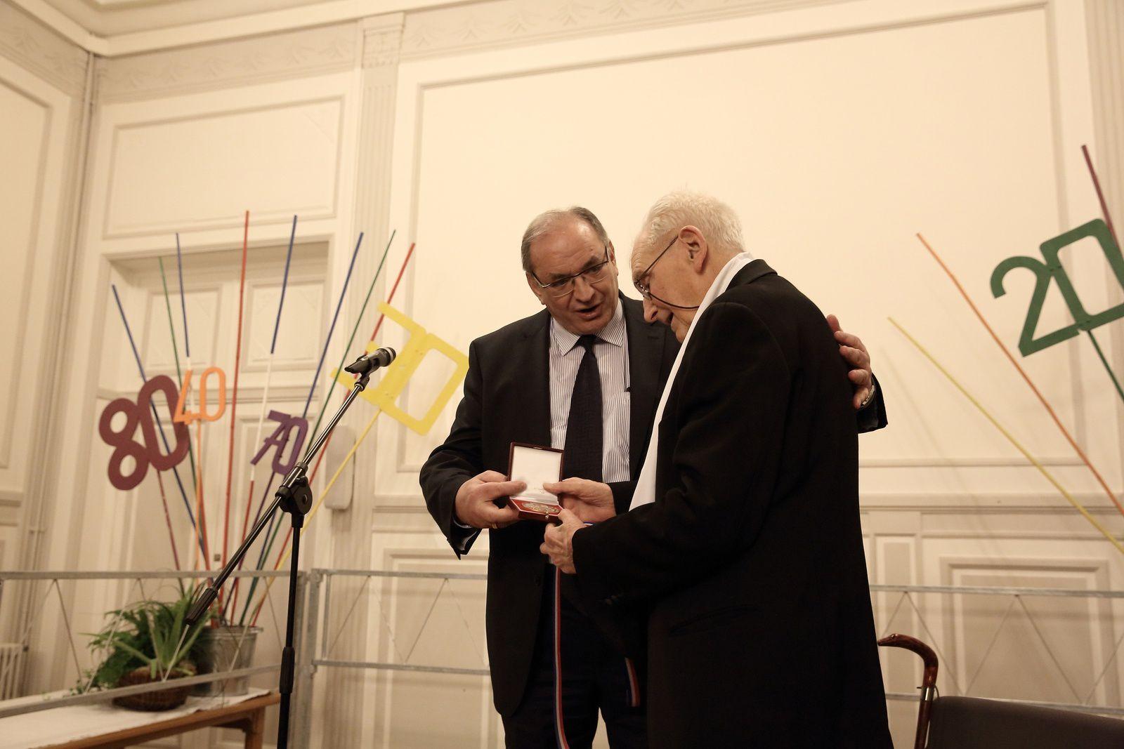 Album 2015-01-24 2 Aubade aux Caladois et hommage au centenaire samedi 24 janvier