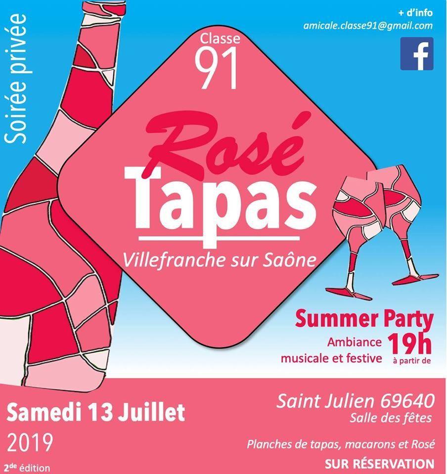 Rosé Tapas  Classe 91