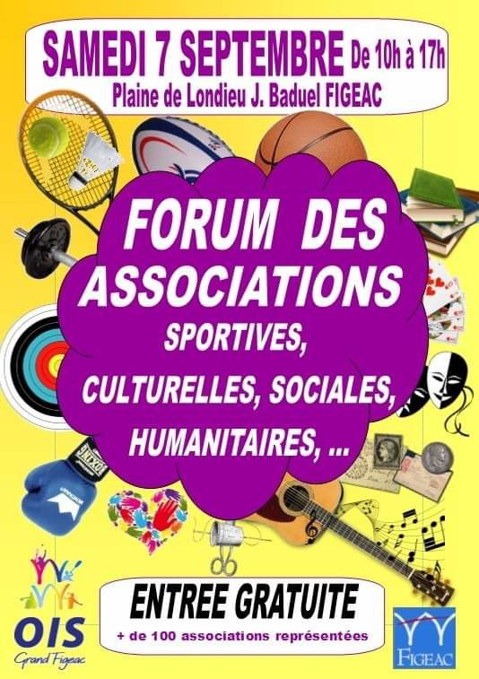 Forum des Associations - 7 septembre 2019
