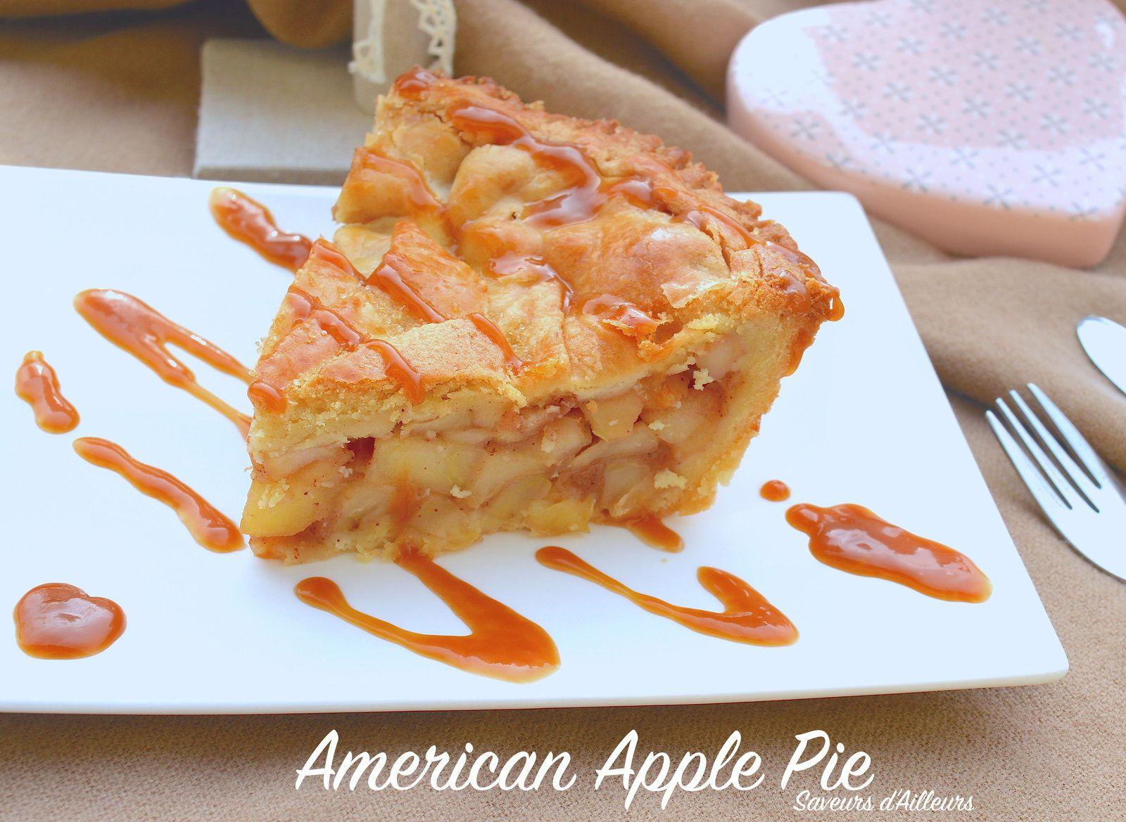 Apple Pie - Tarte aux pommes Américaine